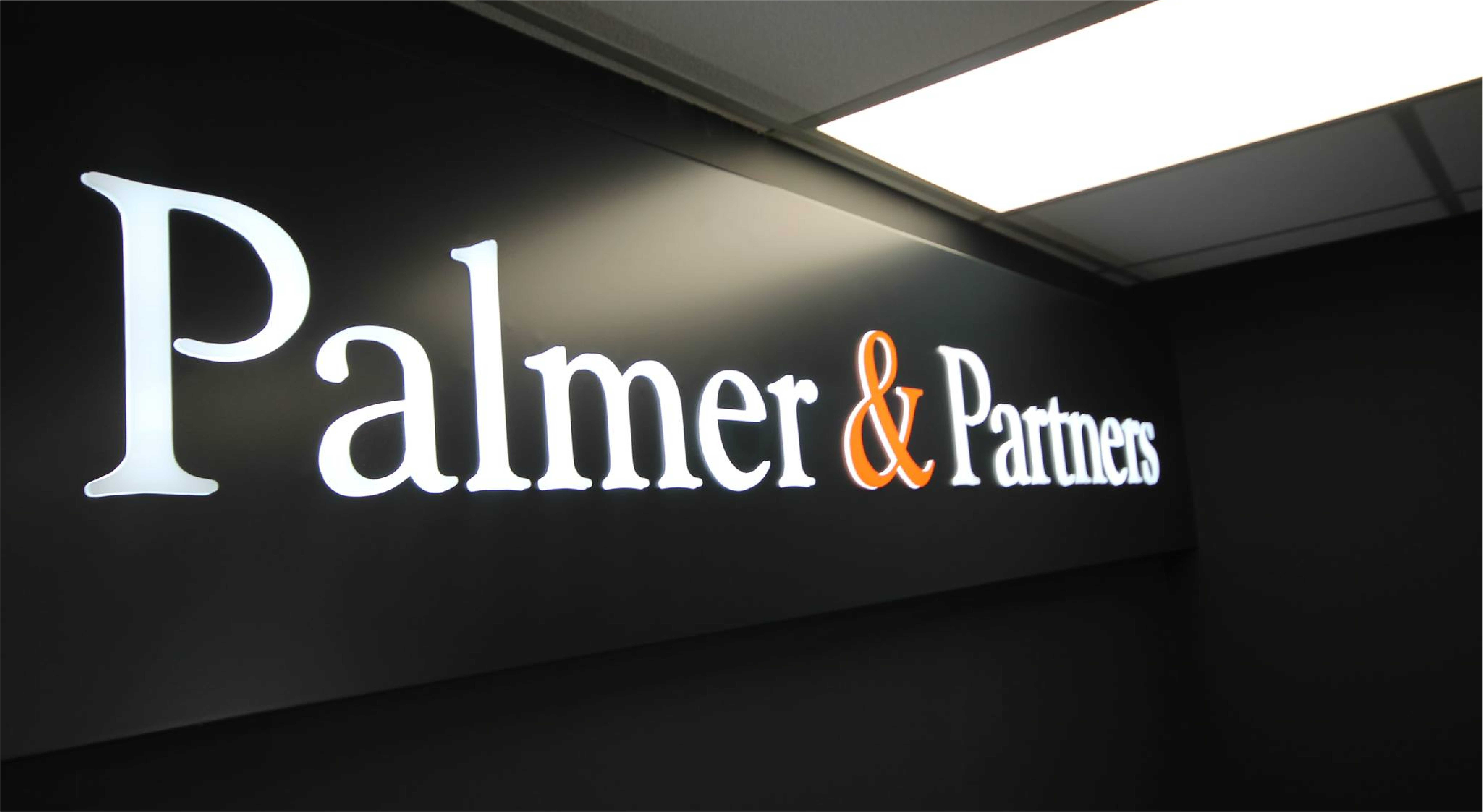 Palmer & Partners Signage - Sign Printing and Installation by Envirosigns Ltd
