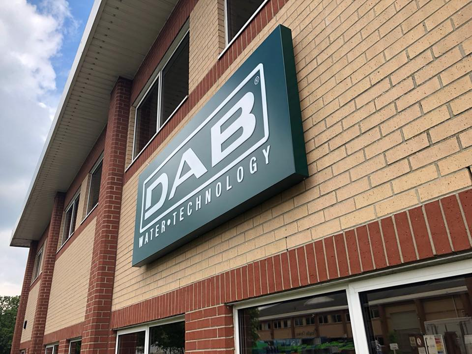 DAB Water Technology – External & Post Signs