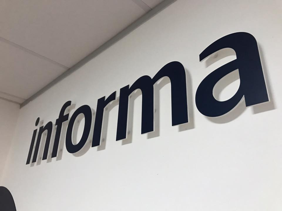 Informa – Internal Branding Graphics