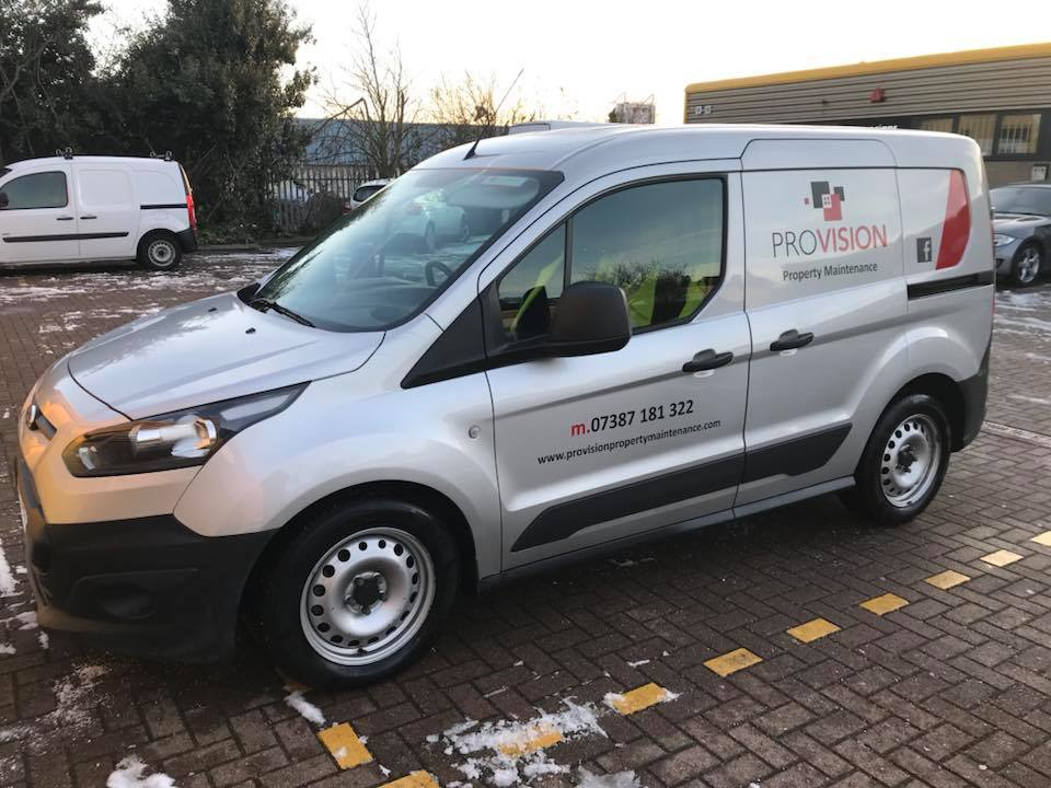 Provision Property Maintenance – Vehicle Graphics